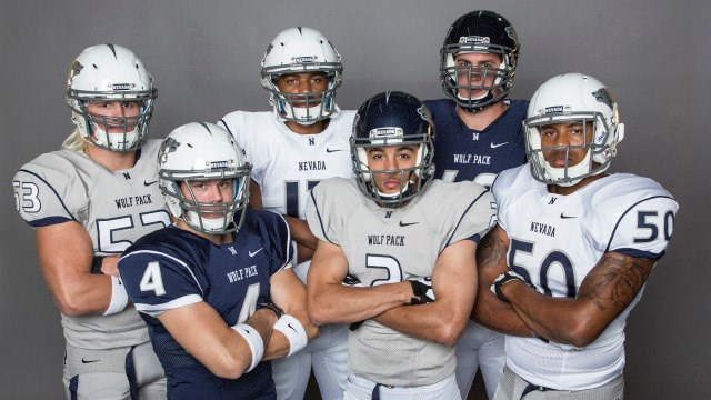 2013 Nevada Football Uniforms University Of Nevada Athletics