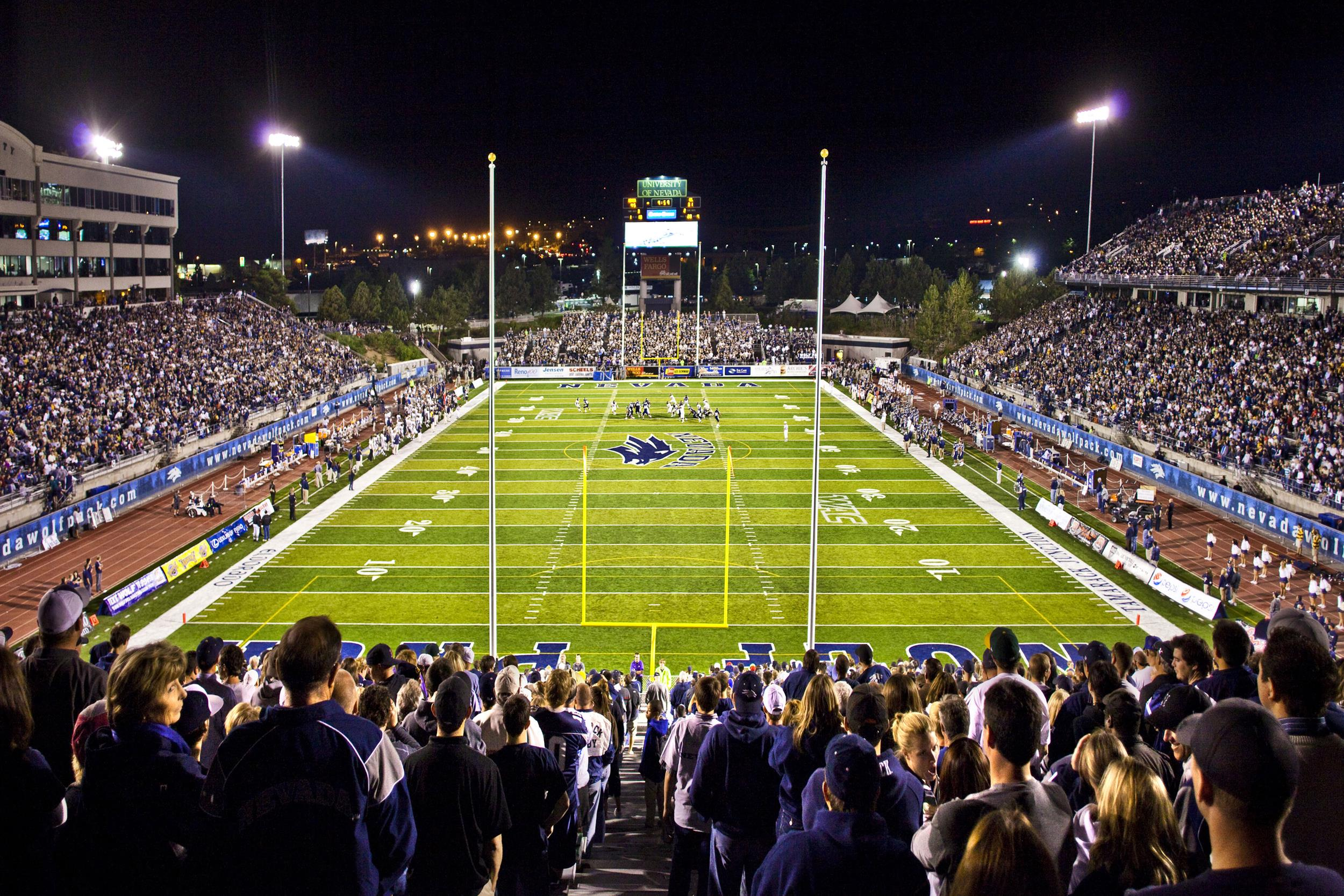 Mackay Stadium Facilities University Of Nevada Athletics